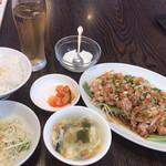 135809986 - 四川よだれ鶏定食