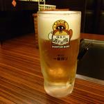 道とん堀 - 生ビールです。