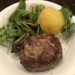 ステーキ&ワイン 神房 - 黒毛和牛100%ハンバーグ
