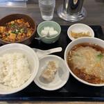 三熙 - 麻婆豆腐セット