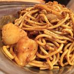 スパゲッティーのパンチョ - ジャガイモも含めて具材もボリューミー