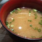 大和寿司 - しじみ汁