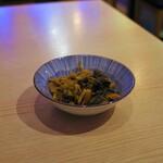 新麺 鯛出汁らーめん めで鯛 - 辛子高菜