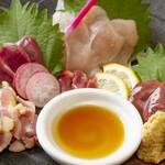 鶏バル - たたき(朝引き鶏のたたき)