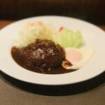 ビストログールマン - 料理写真:ハンバーグ