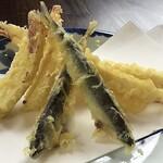手打ちそば 櫓 - 料理写真:季節の天ぷら