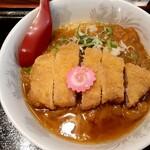 とんかつ栗平 - 料理写真:カツカレーラーメン(850円也) 小坂町の名物…らしい!
