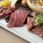 YAKINIKU BAR TAMURA - お肉アップ