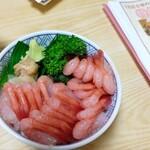 寿司のまつくら - 甘えび丼