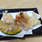 寿司のまつくら - 甘えびの天ぷら