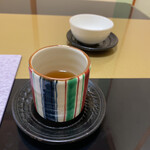 天木 - お茶は緑茶にほうじ茶。3回出てきました。