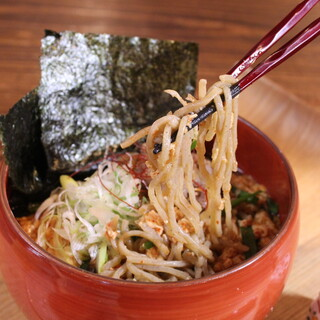 人気商品!牛肉ラー油辛麺