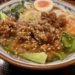 丸亀製麺 - お肉たっぷり(((o(*゚▽゚*)o)))♡