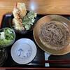 蕎麦一 - 料理写真:えび入りミニ天丼セット