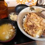 もつ焼串 山形肉問屋センター - 山形牛丼(大)