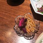 魚眞 - 漬け物