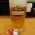 にぎり長次郎 - 生ビール ¥605