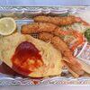 洋食亭ときわ - 料理写真:オムライス&海老フライ 1,030円 ※テイクアウト(洋食亭ときわ)