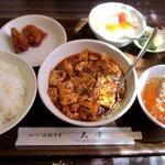 チャイニーズレストラン大幸 - 陳麻婆豆腐&鶏のから揚げ!