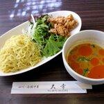 チャイニーズレストラン大幸 - 冷やし坦々つけ麺!