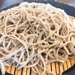 酒・蕎麦 田治 - かき揚げ丼と蕎麦の定食セット:もり
