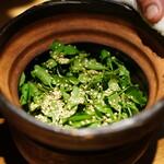 高太郎 - 鯛とクレソンの炊き込みご飯