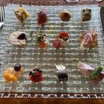 ワイン ブランシュ - 料理写真:前菜盛り合わせ
