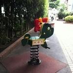 堀内ベーカリー - 6/25 宇田川遊歩道 いつも食べる場所