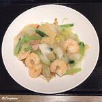 中国料理 空 - 蝦仁炒麵