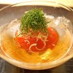汐見 - 丸ごとトマトの煮びたし