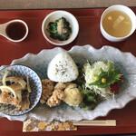町家カフェ 燦々 - ランチプレート:¥980