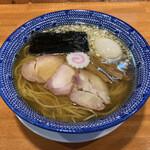 きく屋 - 煮干中華 煮玉子入り ¥800+¥100=¥900