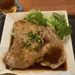 iNAho - 豚ロースのしょうが焼き