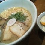 13587005 - ばりめん¥630+煮玉子¥110