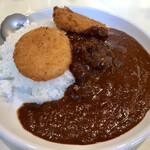 カレー専門店 横浜 - コロッケカレー辛口
