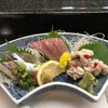 米八 - 料理写真:本日の刺身三品