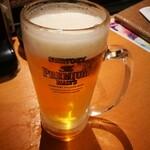 炎 - ビール