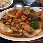Chuukaryourishuurin - 鶏肉辛味噌炒め
