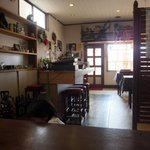 チャイナ食堂かしん - 座敷席から見た店内