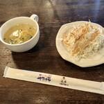 Taisakabasarapao - オープンランチセットのスープとサラダ