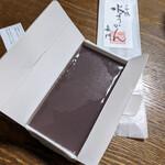 日本橋 長門 - 日本橋 長門『水ようかん』 880円(税込)