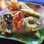 松葉ごろん亭 - 蕎麦の野菜天