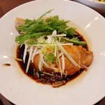 Aoyamashanwei - 蒸し鶏の葱醤油~!