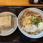 根っこ - アジフライに打ち勝った、高野豆腐の天ぷら‼︎