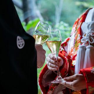 結婚式・お顔合わせ・ご結納は一の家で。ご会食プランもご用意。