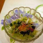 江戸銀寿司割烹 - 海鮮サラダ