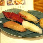 江戸銀寿司割烹 - にぎり寿司4貫