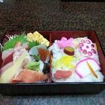 銀波鮨 - 料理写真:上ちらし(1,500円)