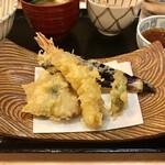 久富 - 天ぷら5種