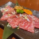 本格焼肉 カンゲン - ♦︎黒毛和牛のザブトン ¥3,580
